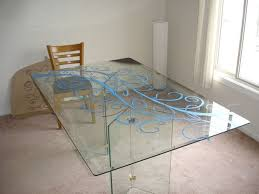 Dining Room Glass Tables Glass Dining Room Table