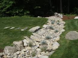 46 best dry riverbed images on pinterest landscaping dry creek