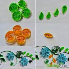 tutorial quilling flower pandahall tutorial on how to make easy quilling flower cards