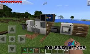 Minecraft Decoration Mod Cool Idea Minecraft Pe Furniture Modern Design Pocket Furniture