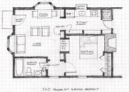 Garage Floor Plans With Living Quarters Apartments Garage Plans Living Quarters Marvelous Garage With