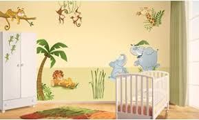 sticker mural chambre fille stickers muraux chambre enfant leostickers