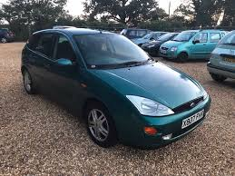 2000 ford focus 1 8 5 months mot service history in