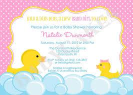 duck baby shower invitations baby shower invitations fascinating rubber duck baby shower