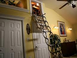fold away attic ladder hgtv