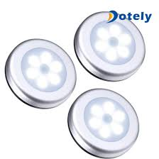cordless battery powered led picture light china 6 led round motion sensor light cordless battery powered led