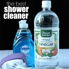 How To Make Bathtub Cleaner Best 25 Homemade Shower Cleaner Ideas On Pinterest Diy Shower