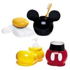 mickey mouse bathroom set mickey mouse mice and ebay
