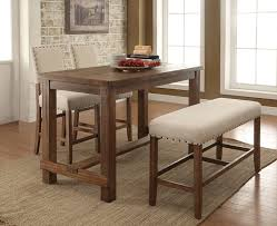 high top kitchen table with leaf furniture of america cm3324pt 4pc 4 pc sania collection contemporary