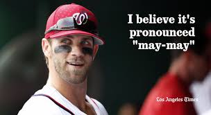 How To Say Meme - harper national league mvp doesn t know how to say meme
