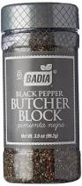 amazon com badia pepper black butcher block 3 5 oz grocery amazon com badia pepper black butcher block 3 5 oz grocery gourmet food