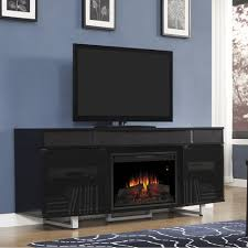 black electric fireplace media center simple yet charming