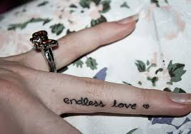 endless love tattoo designs on finger sides photo 5 2017 real