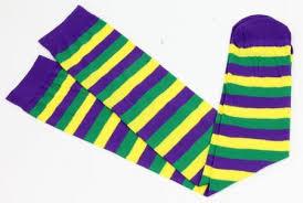 mardi gras socks earl doescher inc