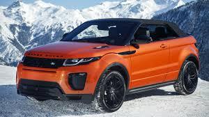 2017 range rover evoque convertible hse color phoenix orange in