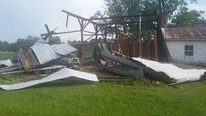 pop up storms bring hail damage