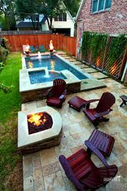 Decorating Small Backyards by Decoration Small Backyards With Pools Small Backyard With Pool