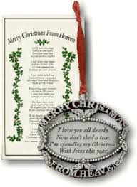merry from heaven ornament i you all dearly now don
