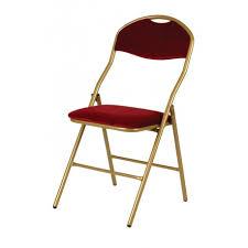 chaise dorée chaise pliante vienna armature dorée velours bordeaux brasserie