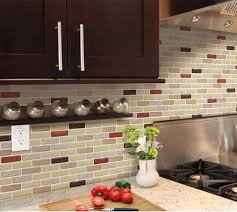 decor lowes stick on backsplash with cheap peel and stick tile