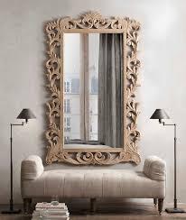decorations minimalist restoration hardware mirrors to beautify