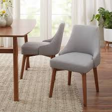 Modern Dining Chairs Better Homes Gardens Reed Mid Century Modern Dining Chair Set Of