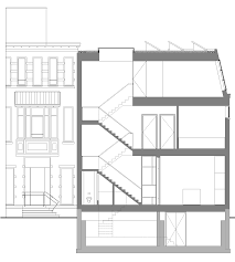 museum floor plan requirements balconies and full storey windows added to villa in rotterdam