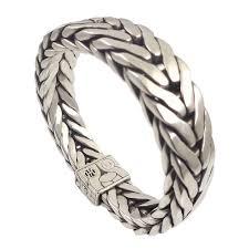 silver woven bracelet images John hardy sterling silver woven chain men 39 s bracelet pre owned png