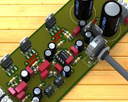 Transformer Coupled Transistor Amplifier Schematic Circuit Power Audio Amplifier With Tda2030 2 1 U2013 3 X 18 Watts