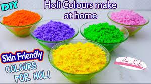 diy holi powder ग ल ल making tutorial for holi 2017