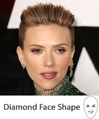 hairstyles to cover ears diamond face shape the right hairstyles for you