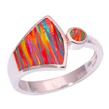 opal rings wholesale images Orange fire opal ring jpg