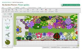 flower garden layout planner the gardens