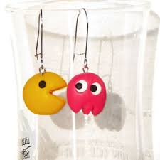 pacman earrings shop bff earrings on wanelo