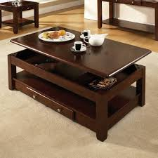 Shelf Designs Furniture Cherry Wood Coffee Table Design Ideas Dark Brown