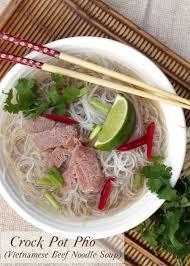 pho cuisine crock pot pho beef noodle soup curious cuisiniere