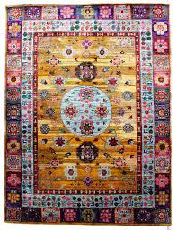 Sari Silk Rugs by Rug Love Sari Silks And More The English Room