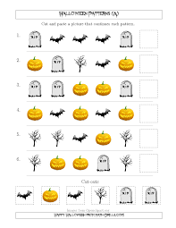 scary halloween picture patterns with shape attribute only a