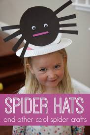 toddler approved spider hat and other cool spider crafts for