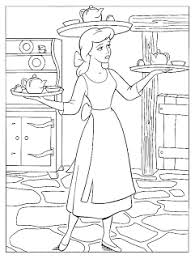 free princess cinderella coloring pages coloring pages