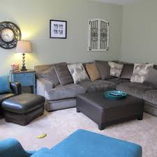 cindy crawford sectional sofa huge family room reveal re do of all furniture mommies with style