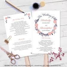 Diy Wedding Ceremony Program Fans 19 Best Images About Diy Wedding Programs On Pinterest Wedding