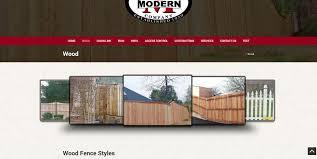 modern fence company fort smith ar web design fort smith ar