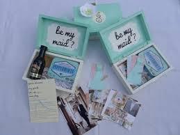 bridesmaid boxes how to make be my bridesmaid boxes