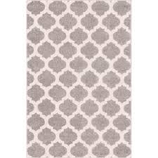 well woven mystic zoe grey 5 ft x 7 ft modern trellis area rug