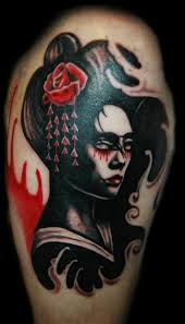 25 striking geisha tattoos designs