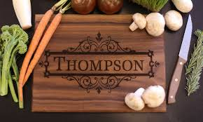 personalized cutting board personalized cutting boards morgann hill designs groupon