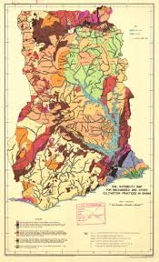 Map Of Ghana The Soil Maps Of Africa Display Maps