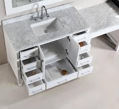 Bathroom Sinks And Vanities Single Sink Vanity With Makeup Area Bedroom Gregorsnell Single