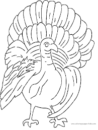 thanksgiving color page coloring pages for kids holiday